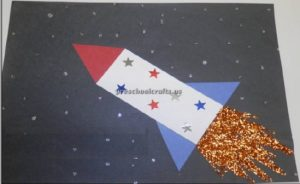 rocket craft ideas for kindergarten and preschool