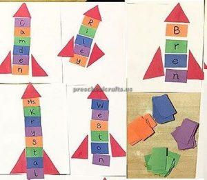 rocket craft ideas for preschool and kindergarten