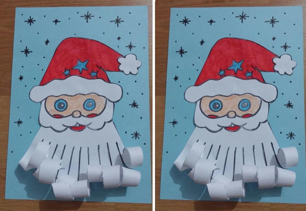 Santa Claus Craft Idea for Preschool - Preschool and Kindergarten
