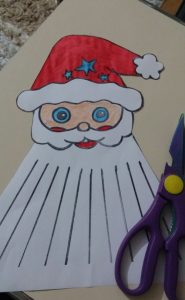 santa claus christmas crafty for kids