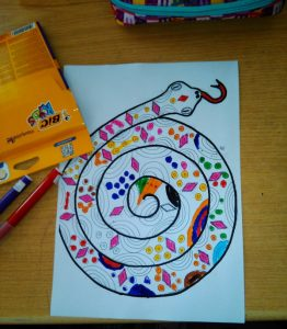 snake crafts for kids