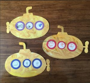 submarine crafts for preschool and kindergarten