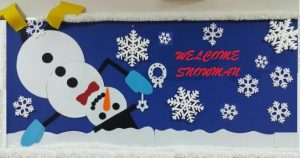 welcome to winter snowman bulletin boards for kids