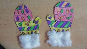 winter mittens craft ideas for kids