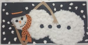 winter snowman preschool bulletin board ideas