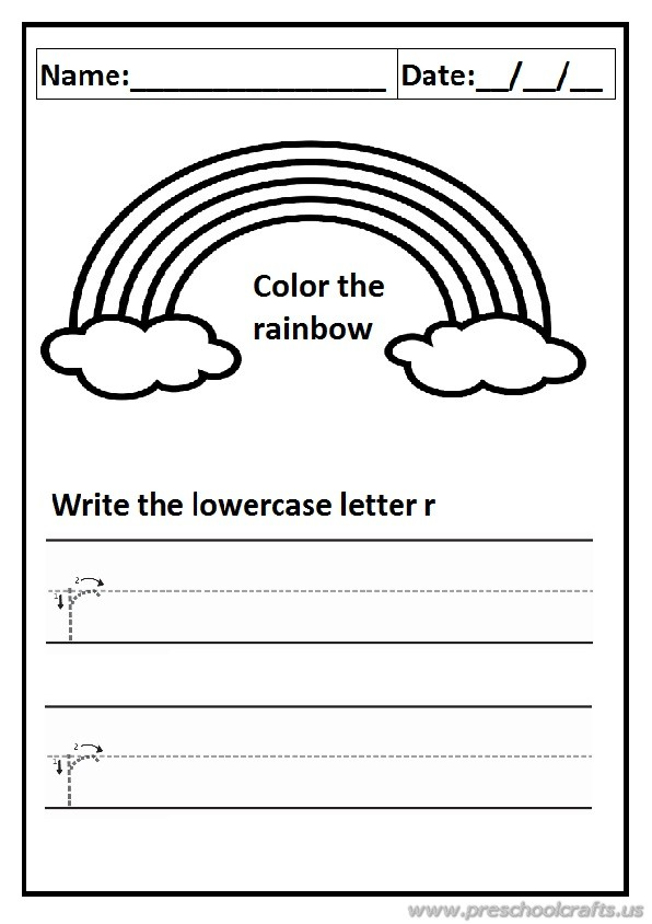 cut out letter r worksheets for kindergarten cut best free printable worksheets. Black Bedroom Furniture Sets. Home Design Ideas