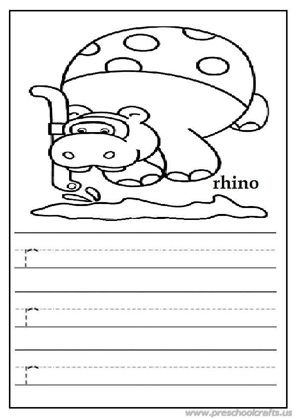 Lowercase letter r worksheet free printable preschool and kindergarten write the lowercase letter r worksheet for preschoolers free printable ibookread Download
