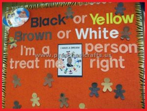 Martin Luther King Day Bulletin Board Ideas
