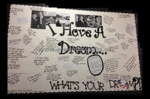 Martin Luther King Day Bulletin Board Ideas I Have a Dream for Preschool Kindergarten