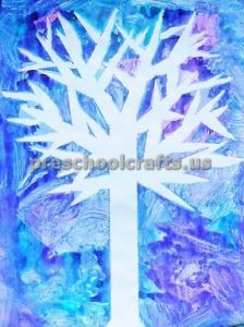Winter Tree Craft ideas for kids
