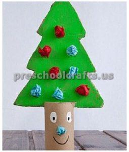 Winter Tree Craft ideas for kindergarten