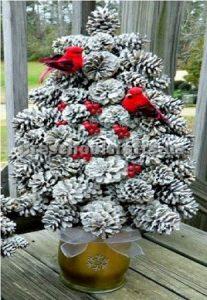 Winter Tree Craft ideas for kindergatner