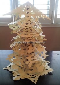 Winter Tree Craft ideas for preschooler