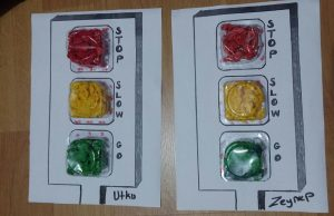 traffic light craft idea easy fun for kindergarten