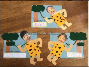 jungle theme crafts