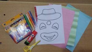preschool clown crafts