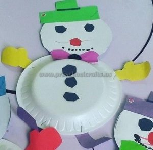 snowman craft ideas for preschool kindergarten
