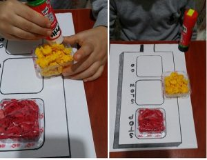 traffic light craft idea from recycle materials for kids