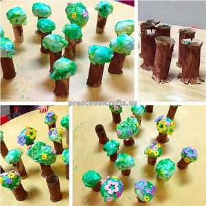 tree crafts for toddlers and preschoolers