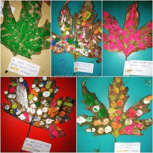 tree leaf craft ideas for preschooler