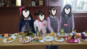 furuits and vegetables primary school diy craft ideas
