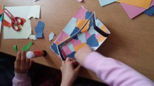 homeschool art craft idea