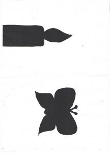 shadow template for art craft activity