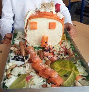 vegetables home and garden diy art craft idea for kids