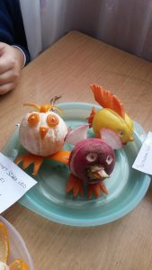 vegetables kids activity ideas by radish and carrot