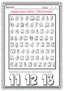 Letter-J-Worksheet-for-Pre-and-Kindergarten-1-212x300 J Worksheet For Kindergarten on free printable 5 senses, winter math, free color word, different types disposal, animal coverings, my house, vowel letters, fun phonics,