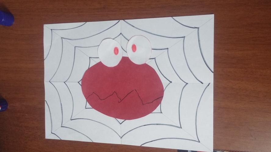 spider craft idea for kids