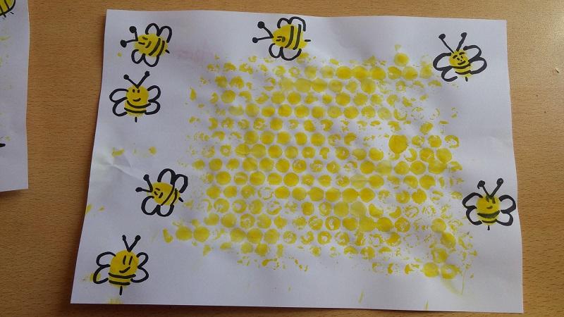 kids simple bee craft ideas