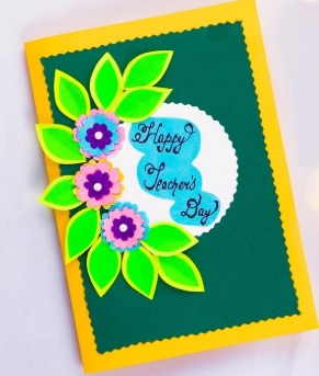 Teachers Day Craft Idea - Happy Teachers Day Card