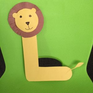 Letter L is for Lion Craft