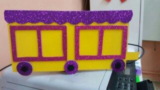 Train craft for preschool