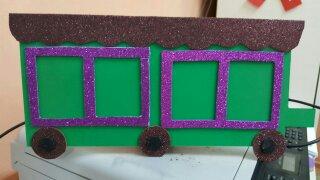 Train craft for preschoolers