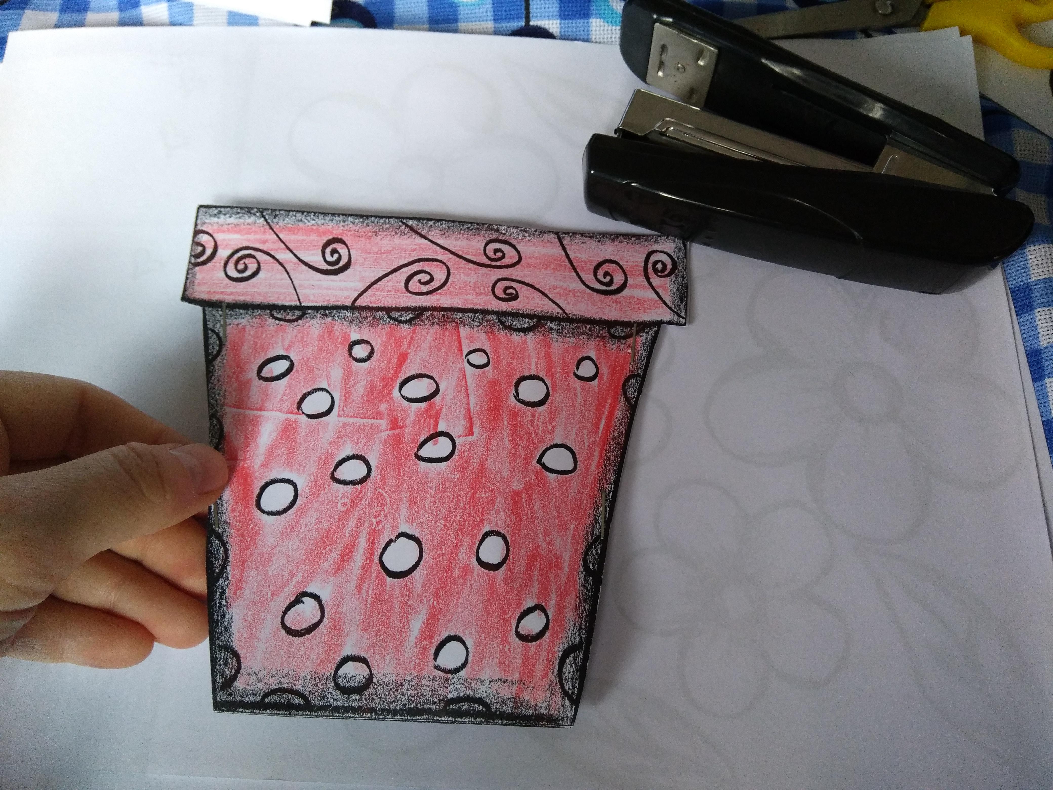 Mother's day craft idea preschooler and kindergartner