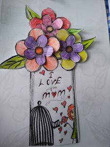 Preschool and Kindergarten Mother's day craft idea