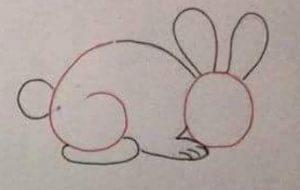 Easy to Draw Rabbit for Kids - Preschool and Kindergarten