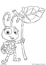 Ant coloring pages for preschool