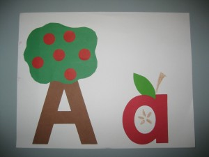Apple-letter-a-craft-preschool