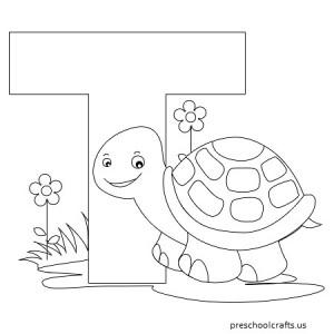 Coloring Alphabet, for Kids, t, preschool, letter t, coloring pages, worksheets, homeworks