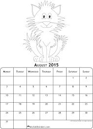 Coloring pages for the August3