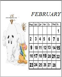 Coloring pages for the month of february