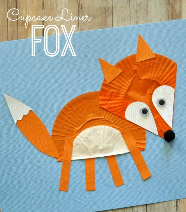 Fox Crafts Idea For Kids Preschool And Kindergarten