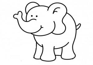 Elefante-colorear-preschool