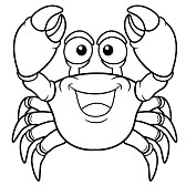 Free lobster coloring pages for preschool