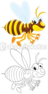 Free printable hornet coloring pages for children