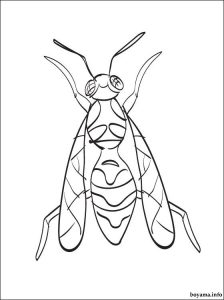 Free printable hornet coloring pages for preschool