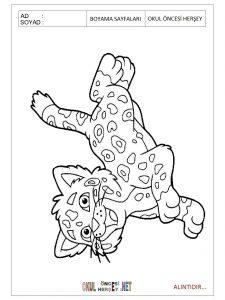 Free printable jaguar coloring pages for preschool